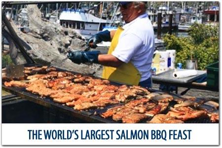 World's Largest Salmon BBQ