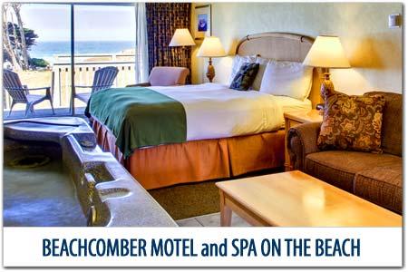 Beachcomber Motel And Spa On The Beach