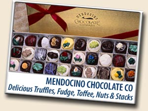 MENDOCINO CHOCOLATE CO<br>MENDOCINO & FORT BRAGG