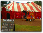 Click for more information on JUL 1-4 | Flynn Creek Circus.