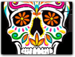 Click for more information on Day of the Dead Festivities.