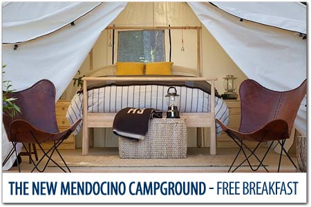 The NEW Mendocino Campground