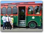 Click for more information on MTA ~ Mendocino Trolley.