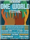 Click for more information on OCT 4 - One World Festival.