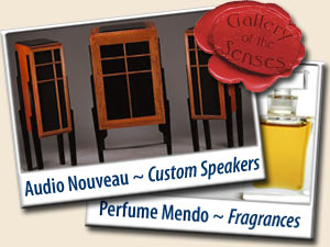 GALLERY of the SENSES <br> Perfume Mendo &amp; Audio Nouveau