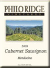 Click for more information on Philo Ridge Cabernet Sauvignon.