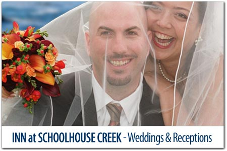 <br>INN at SCHOOLHOUSE CREEK WEDDINGS