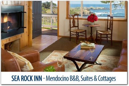 Sea Rock Inn - Mendocino B&B with Suites and Cottages