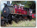 RIDE THE SKUNK TRAIN