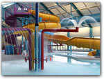 INDOOR POOL & WATERSLIDE