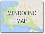 MAP of MENDOCINO